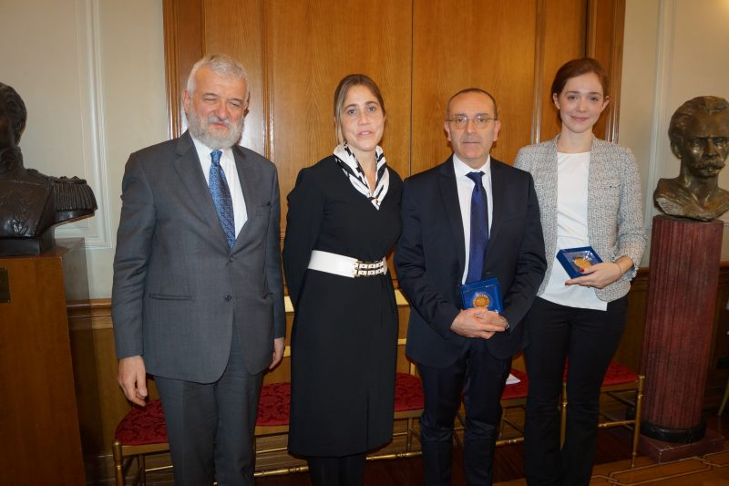 Il consiglio dei delegati incontra i presidenti delle for Commissione esteri camera